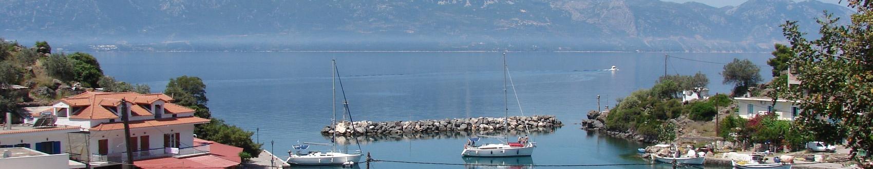 Czarter jachtów Grecja - Akweny w Grecji