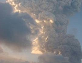 wybuch wulkanu Montserrat