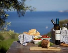 winnice na wyspie Salina
