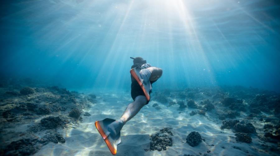 Snorkeling na jachcie